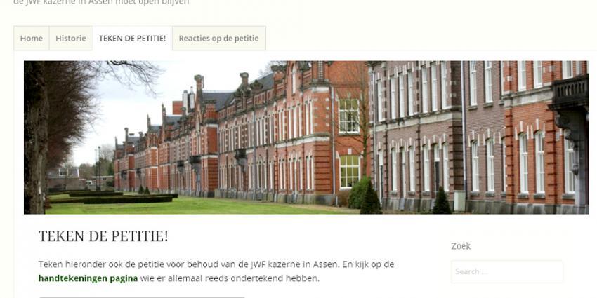Foot van Johan Willem Friso kazerne   steundekazerne.nl   www.steundekazerne.nl