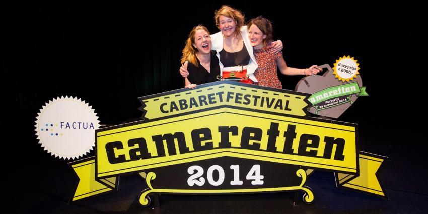 Kiki Schippers dubbel in de prijzen op Camaretten 2014
