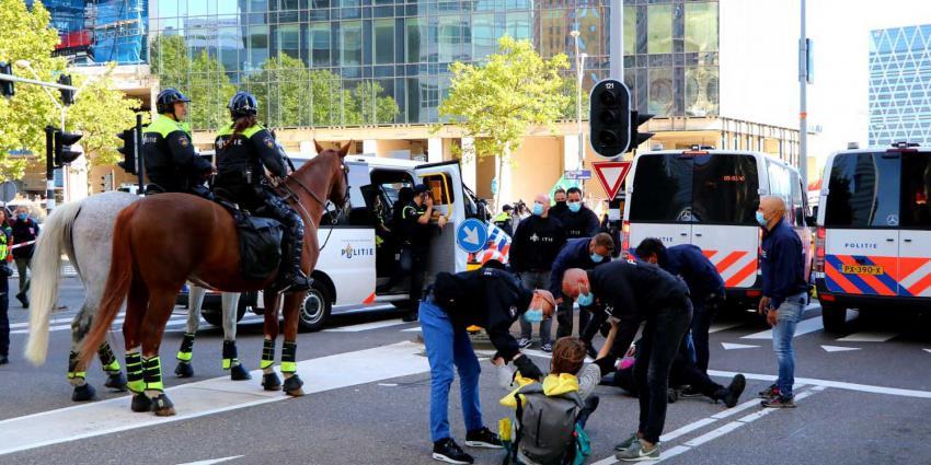 klimaatactivisten-politie