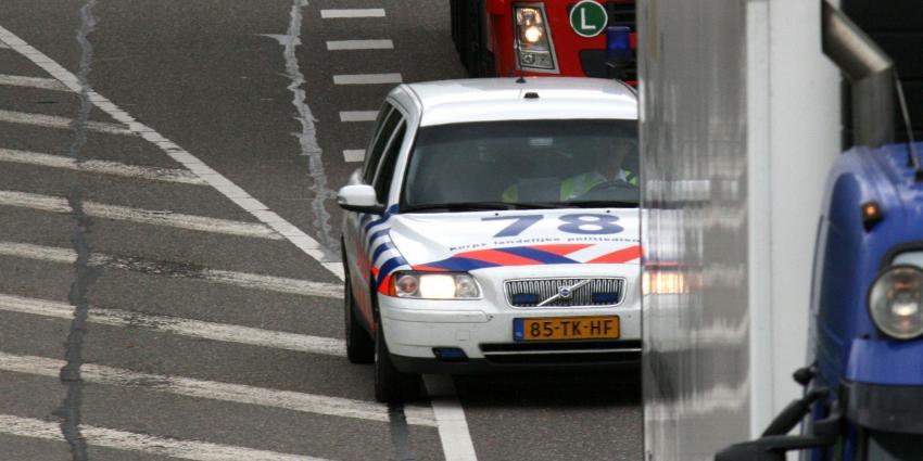 foto van achtervolging politie   fbf archief