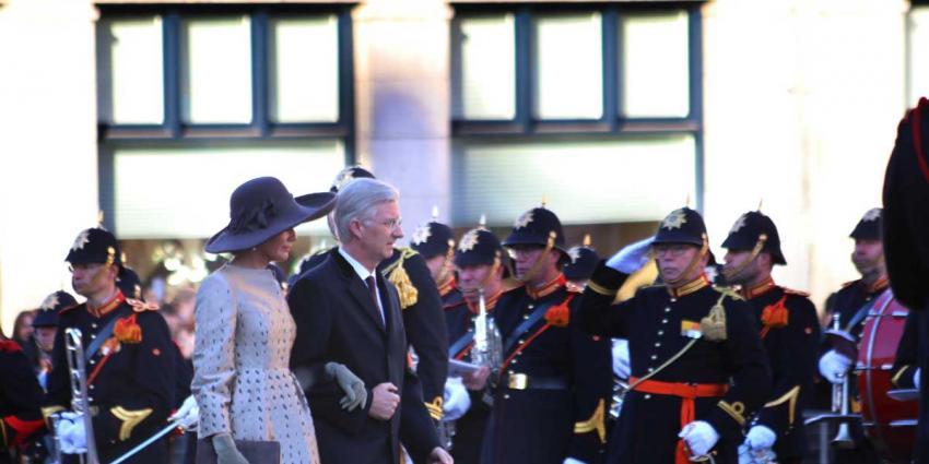 Koning Filip en koningin Mathilde op staatsbezoek in Nederland
