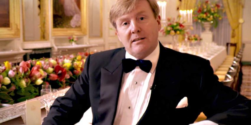 Koning Willem-Alexander nodigt 150 Nederlanders uit voor diner