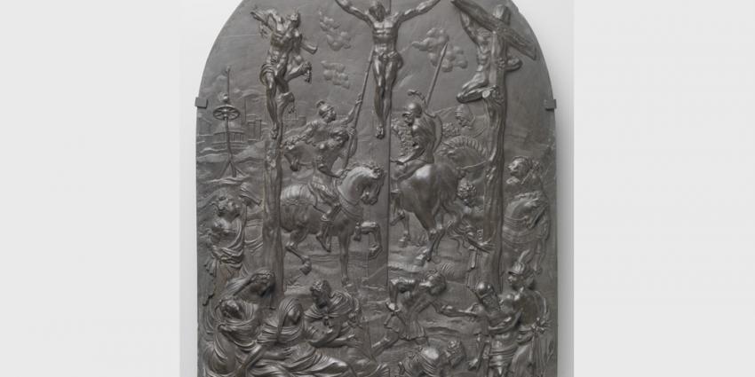 Gerestaureerde kruisiging te zien met Pasen in Rijksmuseum