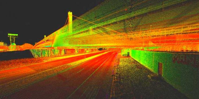 Lasers brengen Ring Utrecht precies in kaart