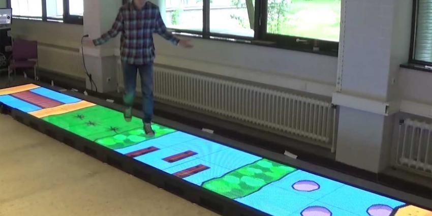 Revalideren wordt een stukje leuker door lopen op LED-vloer