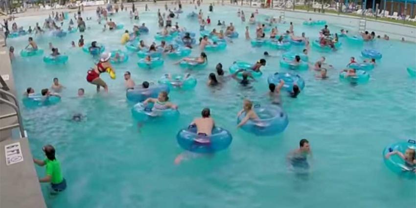 Jongetje dat niet kan zwemmen dankt leven aan Life Guard met arendsogen