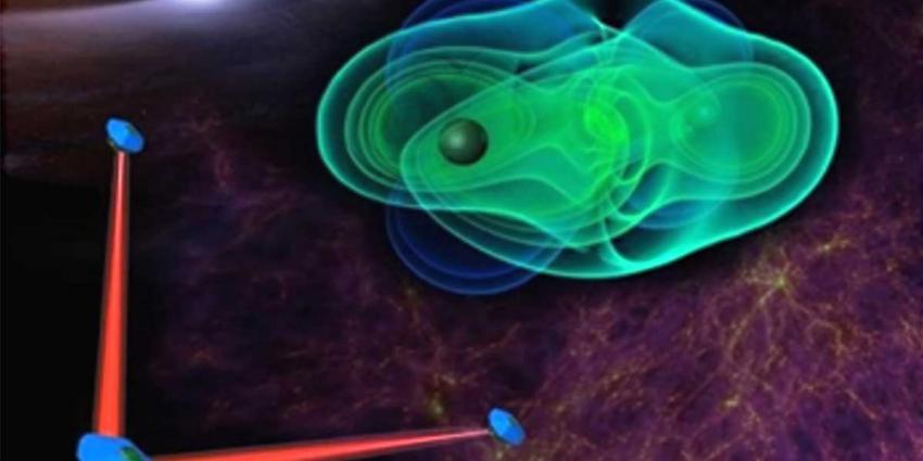 Zwaartekrachtsgolvenmeter LISA mogelijk in 2034 de ruimte in