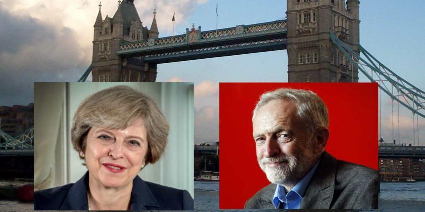 Britten gaan stemmen. Wordt het Theresa May of Jeremy Corbyn