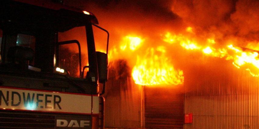 foto van brand in loods | fbf
