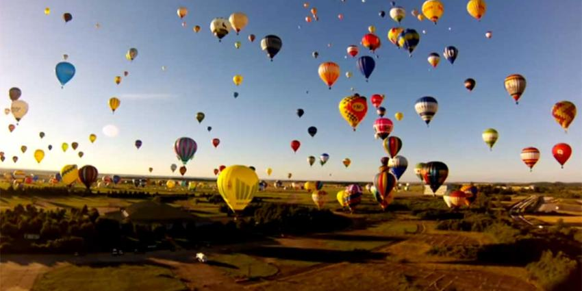 Iets meer dan 'Neunundneunzig Luftballons'
