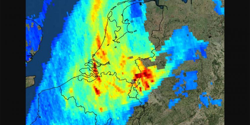 Eerste beelden Nederlandse satelliet luchtvervuiling op aarde 'onthutsend'