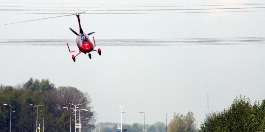 Luchthaven Lelystad moet forens met gyroplane toegang verlenen