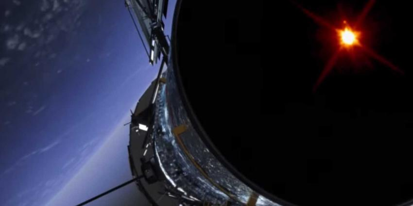 Hubble telescoop ontdekt klein maantje in ons zonnestelsel