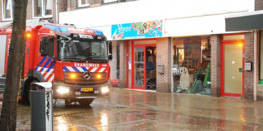 Brandweer assisteert bij wateroverlast