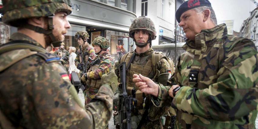 Mariniers en Belgische Lichte Brigade verstevigen banden
