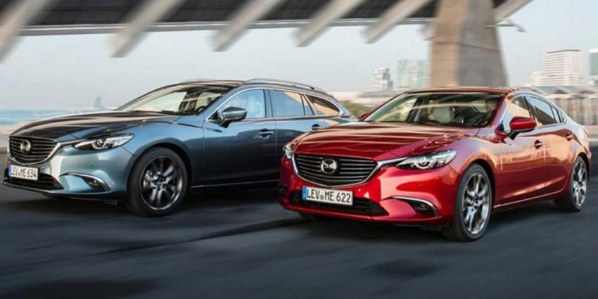 Mazda introduceert in najaar nieuwe Mazda6 modeljaar 2017