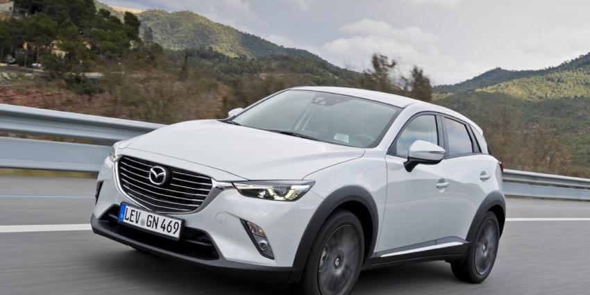 De nieuwe Mazda CX-3