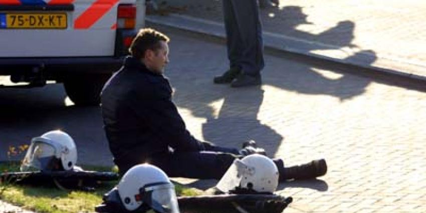 Foto van mobiele eenheid helm | Archief EHF