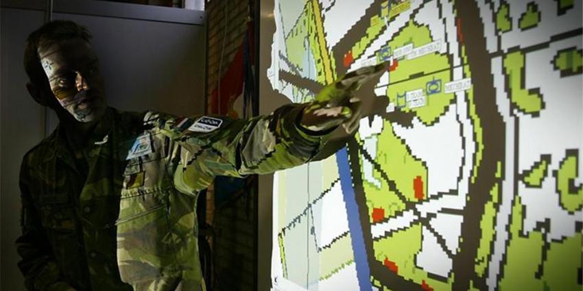 Foto van militair plattegrond Defensie | Min. Defensie
