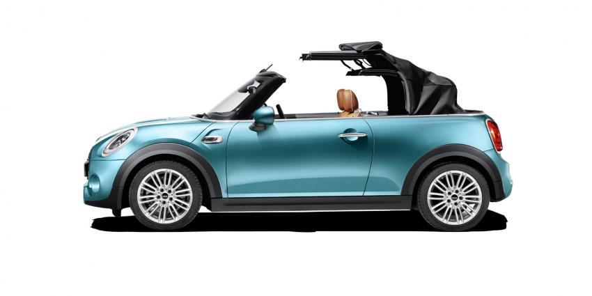 De nieuwe MINI Cabrio gebouwd in Born