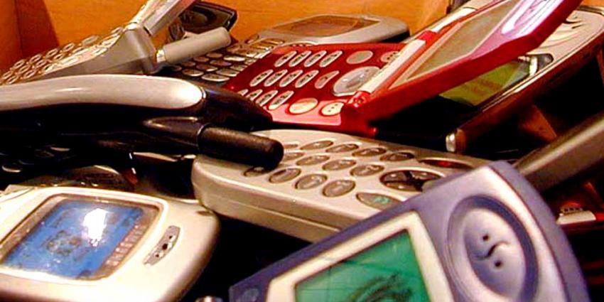 Foto van mobiele telefoons   Archief EHF