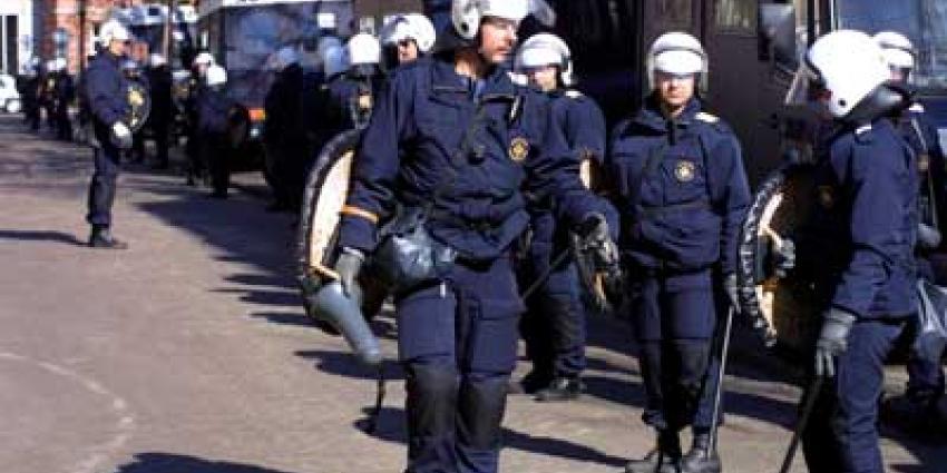 Foto van mobiele eenheid politie   Archief EHF