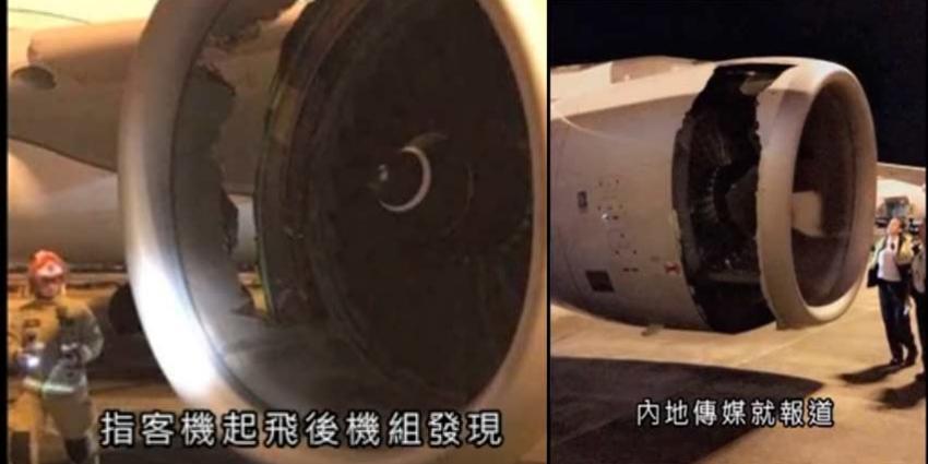 Chinees vliegtuig maakt noodlanding in Australië met gat in de motor