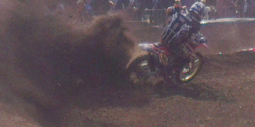 Motorcrosser overleden na noodlottige valpartij