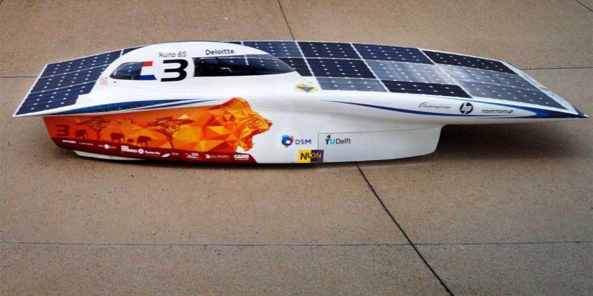 Nieuwe zonnewagen Nuna8s heeft 'beste zonnepaneel ter wereld'