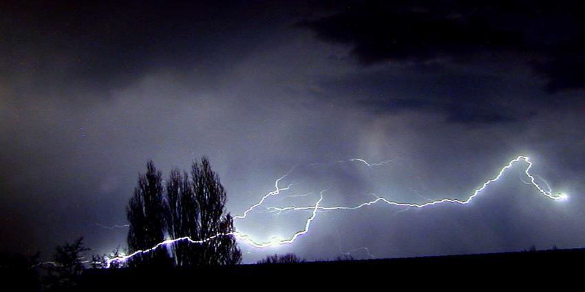 Code geel voor aanhoudende hitte en verwachte onweersbuien
