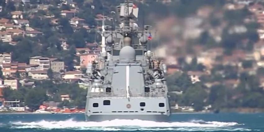 Rusland stuurt oorlogsfregat naar de Middellandse Zee