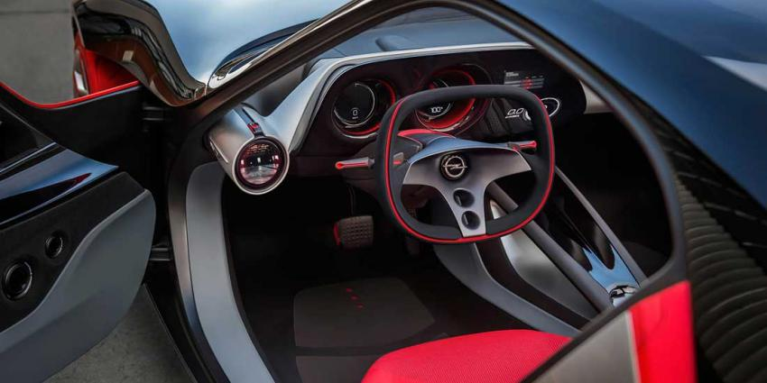 Opel GT Concept onthult visionair interieur met Human Machine Interface