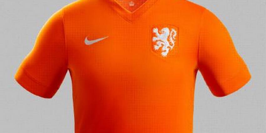 Foto van shirt Oranje voetbal   KNVB