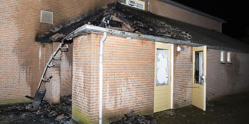 Container met papier in brand bij zorginstelling in Empel