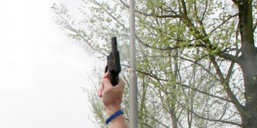 Foto van pistool startschot | Archief EHF