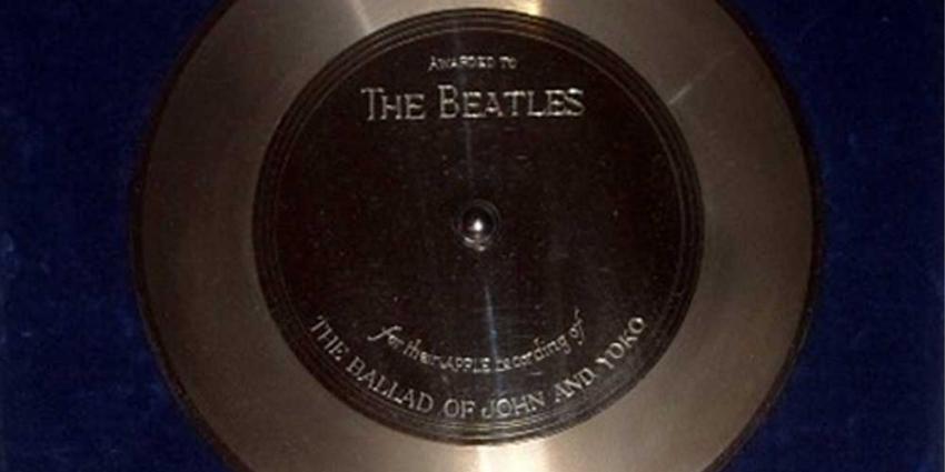 Foto van platina plaat Beatles | Catawiki