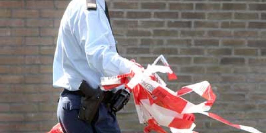 Foto van afzetlint politie | Archief EHF
