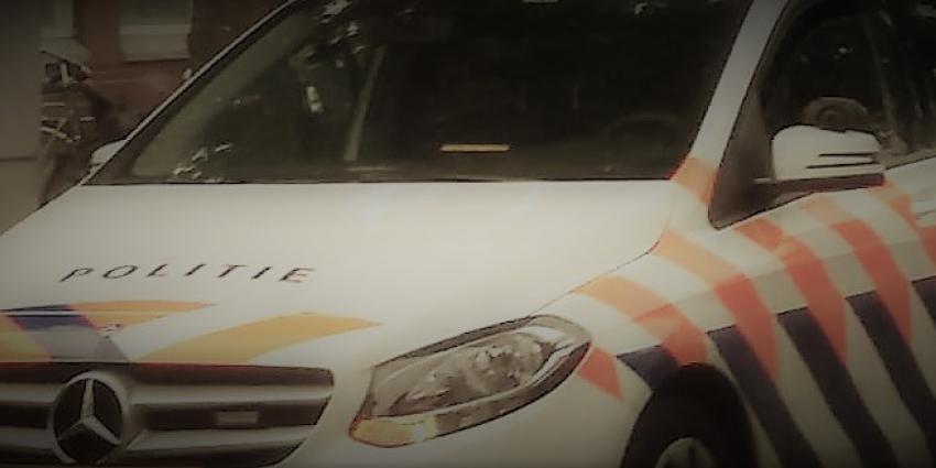 Foto van politieauto