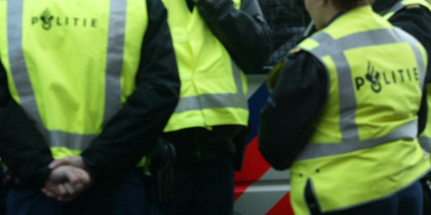 politie demonstratie