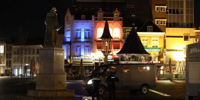 politie-centrum-Den Bosch-avondklok