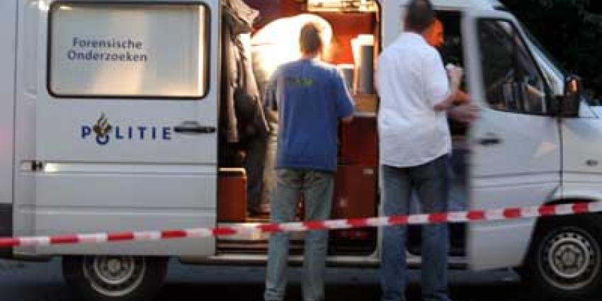 Foto van politie forensisch busje | Archief EHF