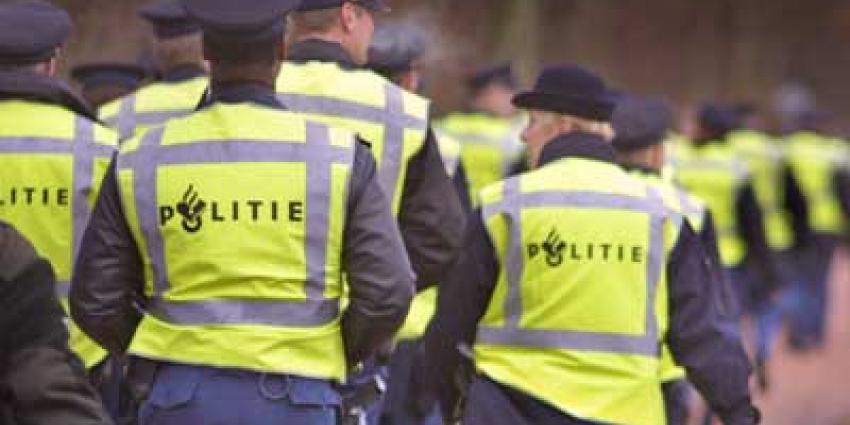 Foto van politie in gele hesjes   Archief EHF