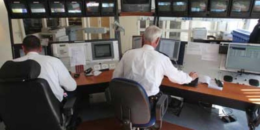 Foto van meldkamer politie | Archief EHF