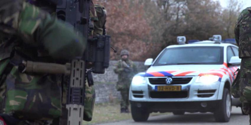 politieauto-militair