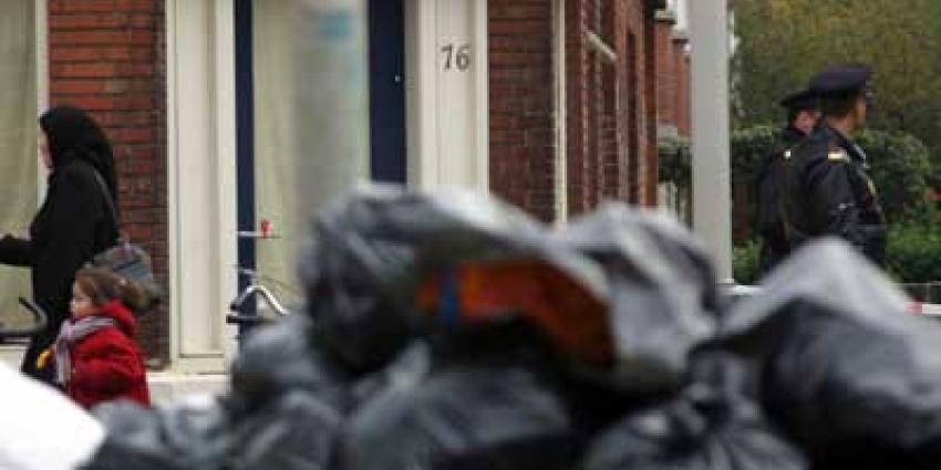 Foto van agenten in wijk   Archief EHF