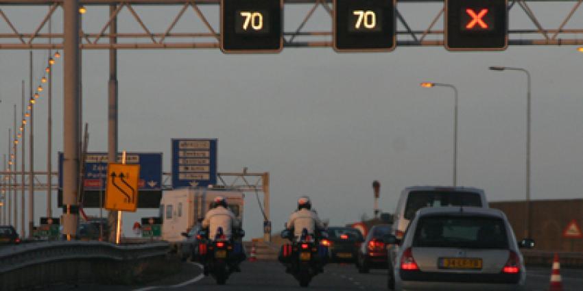 Foto van politie op motoren snelweg | Archief EHF