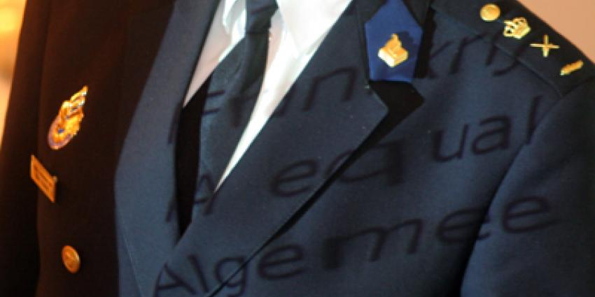 Foto van politie uniform | Archief EHF