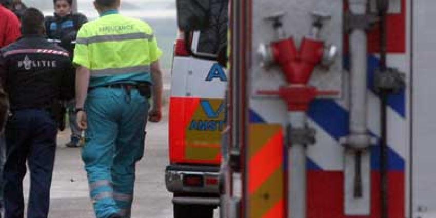 Foto van brandweer politie ambulance   Archief EHF