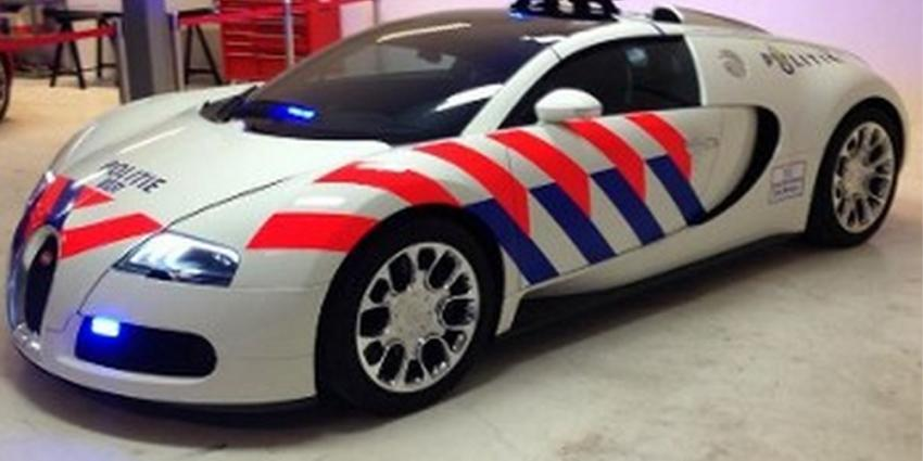 Delftse politie krijgt exclusieve Bugatti Veyron