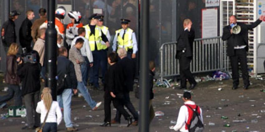 Foto van politie voetbal rellen | Archief EHF